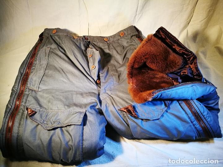 Militaria: antiguo pantalon vuelo invierno WWII RAF - Foto 23 - 104858511