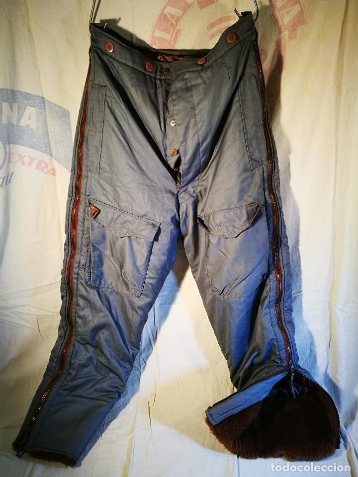 Militaria: antiguo pantalon vuelo invierno WWII RAF - Foto 58 - 104858511
