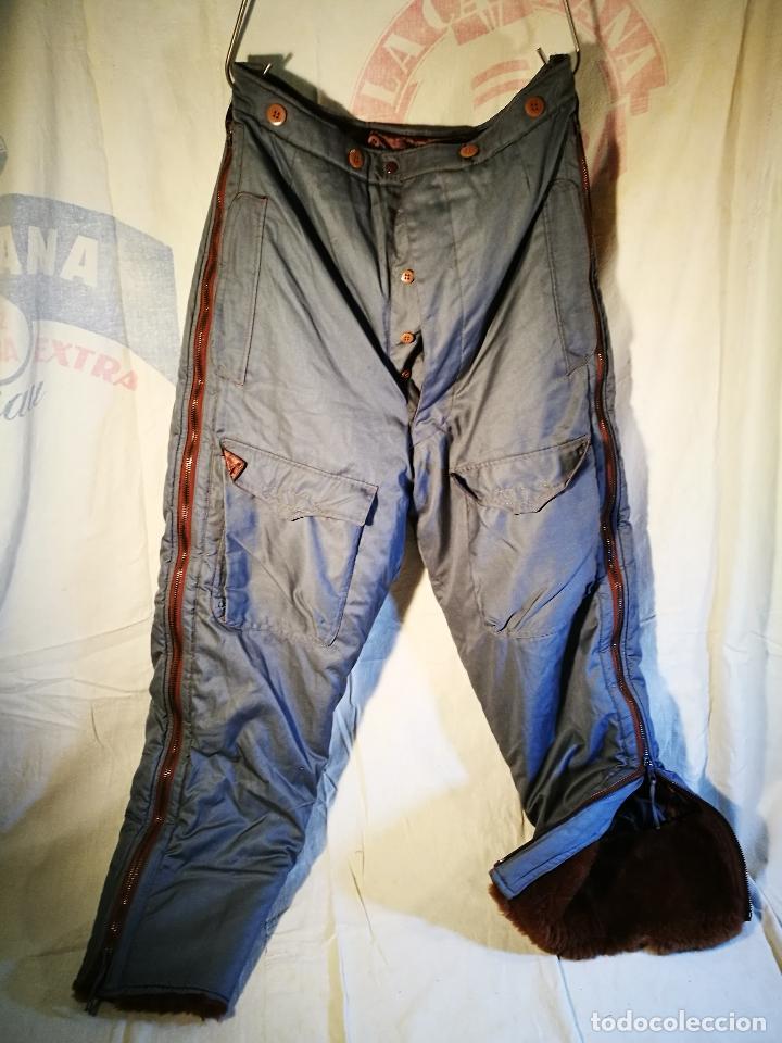Militaria: antiguo pantalon vuelo invierno WWII RAF - Foto 59 - 104858511