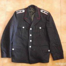 Militaria: GUERRERA UNIFORME CUERPO DE BOMBEROS ALEMÁN ALEMANIA COMUNISTA DDR AÑO 1950 BUEN ESTADO. Lote 104943787