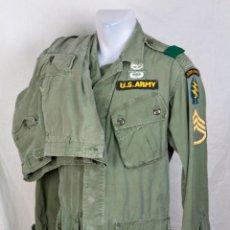 Militaria: UNIFORME COMPLETO ORIGINAL FUERZAS ESPECIALES VIETNAM 1ER MODELO. USSF ADVISOR. Lote 105657687