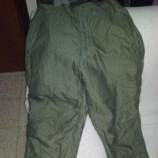 Militaria: US MARINES. UNIFORME DE COMBATE. PANTALON DE CLIMA FRIO. INTERIOR AFELPADO.. Lote 107405407