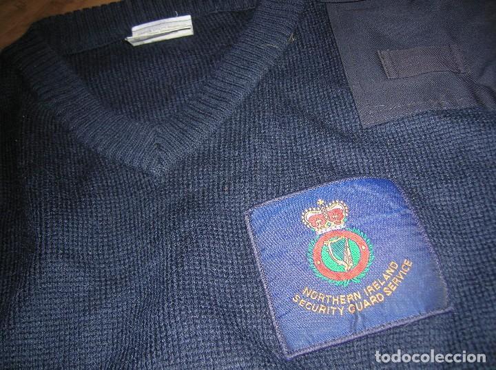Militaria: ANTIGUO Y RARO JERSEY DE LAS FUERZAS DE SEGURIDAD BRITANICAS EN IRLANDA DEL NORTE. - Foto 5 - 108046379