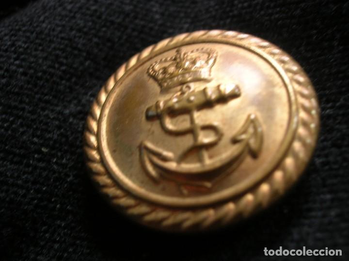 Militaria: ANTIGUO UNIFORME DE OFICIAL DE LA ARMADA BRITÁNICA. ROYAL NAVY. AÑOS 80. - Foto 3 - 108046667