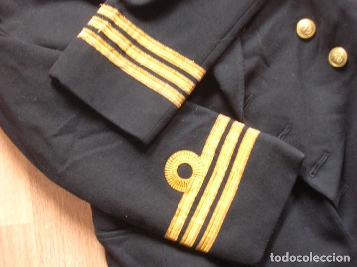 Militaria: ANTIGUO UNIFORME DE OFICIAL DE LA ARMADA BRITÁNICA. ROYAL NAVY. AÑOS 80. - Foto 6 - 108046667
