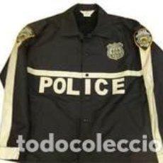 Militaria: CHAQUETA CORTAVIENTOS DETECTIVE NYPD. Lote 277303498