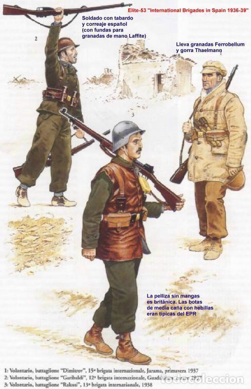 Militaria: PANTALÓN DE LANA MARRÓN, PANTALONES PAÑO MARRÓN, TALLA 48, A ESTRENAR. RECREACIÓN EPR, BBII,ETC... - Foto 3 - 110749515