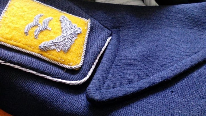 Militaria: FLIEGERBLUSE TENIENTE PILOTO PARACAIDISTA ALEMAN DE LA LUFTWAFFE - Foto 5 - 110759579