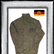 Militaria: CHAQUETA ORIGINAL NVA ALEMANIA CON BOLSILLOS RDA FDA FDU (R 004-I). Lote 121285076