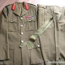Militaria: UNIFORME COMPLETO DE GENERAL DEL EJERCITO DE TIERRA BRITANICO. GUERRA FRIA.. Lote 115226831