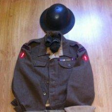 Militaria: INGLATERRA, 1944, UNIFORME BRITÁNICO, BATTLEDRESS DE MAYOR DE ARTILLERÍA (1ST. CORPS). Lote 115610855