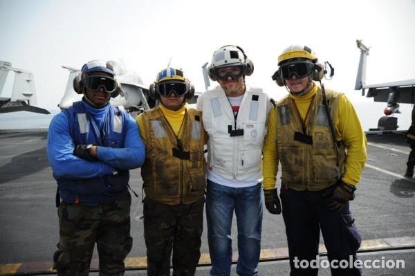 Militaria: USN. US NAVY Y USMC MARINES. JERSEY DE CUELLO ALTO AMARILLO PARA PERSONAL DE CUBIERTA DE VUELO. - Foto 4 - 116057839
