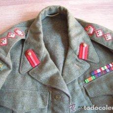 Militaria: BATTLEDRESS / GUERRERA BRITANICA DE CORONEL DE TIERRA CANADIENSE. AÑO 1947.. Lote 116283563
