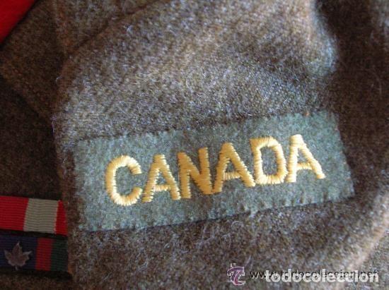 Militaria: BATTLEDRESS / GUERRERA BRITANICA DE CORONEL DE TIERRA CANADIENSE. AÑO 1947. - Foto 4 - 116283563