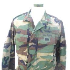 Militaria: UNIFORME BOSCOSO DE UN COMANDANTE US NAVY, SÓLO LA GUERRERA.. Lote 116863911