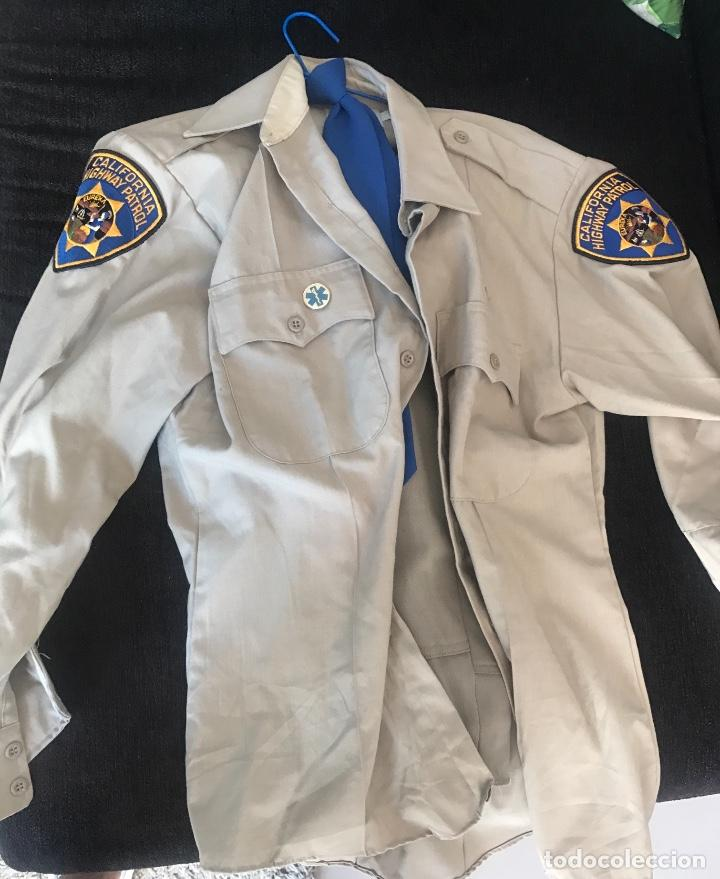 UNIFORME POLICIA MOTORIZADA CHP CALIFORNIA HIGHWAY PATROL (Militar - Uniformes Extranjeros )