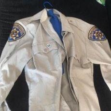 Militaria: UNIFORME POLICIA MOTORIZADA CHP CALIFORNIA HIGHWAY PATROL. Lote 117016267