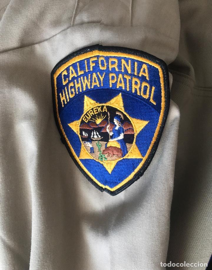 Militaria: Uniforme policia motorizada CHP California Highway Patrol - Foto 5 - 117016267