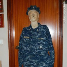 Militaria: USN. US NAVY. UNIFORME DE UN TENIENTE.. Lote 117469015