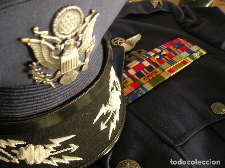 Militaria: UNIFORME COMPLETO DE CORONEL MUY CONDECORADO USAF. EPOCA DE LA GUERRA DE VIETNAM. 100% ORIGINAL USA. - Foto 4 - 119930075