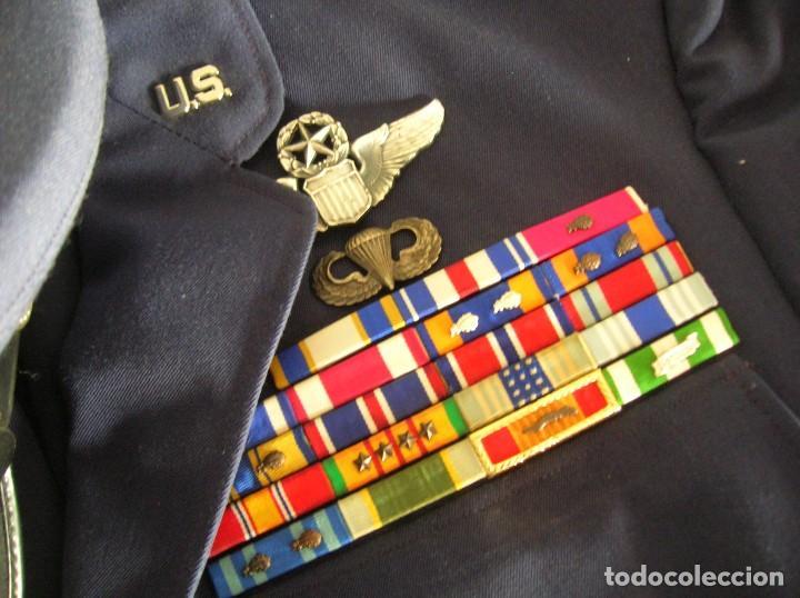 Militaria: UNIFORME COMPLETO DE CORONEL MUY CONDECORADO USAF. EPOCA DE LA GUERRA DE VIETNAM. 100% ORIGINAL USA. - Foto 5 - 119930075