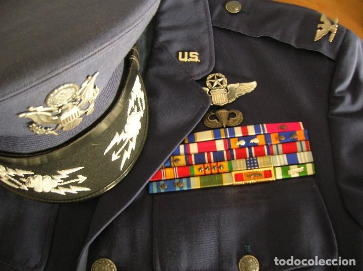 Militaria: UNIFORME COMPLETO DE CORONEL MUY CONDECORADO USAF. EPOCA DE LA GUERRA DE VIETNAM. 100% ORIGINAL USA. - Foto 7 - 119930075