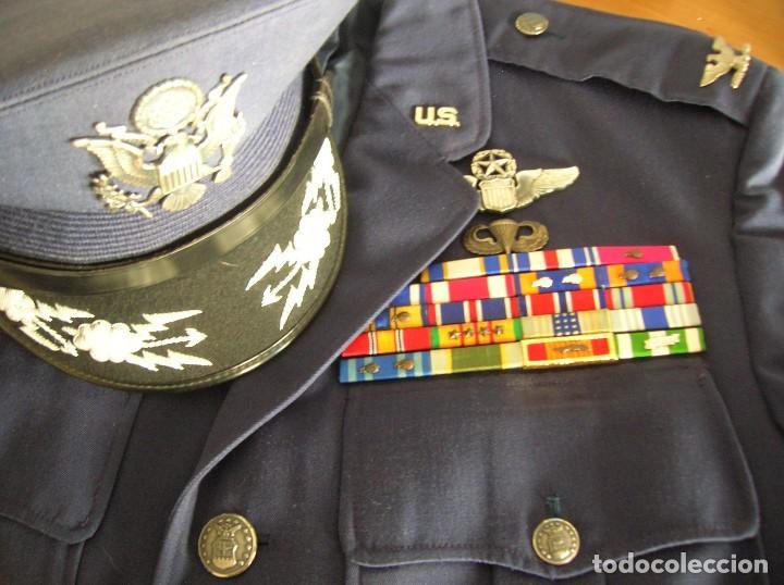 Militaria: UNIFORME COMPLETO DE CORONEL MUY CONDECORADO USAF. EPOCA DE LA GUERRA DE VIETNAM. 100% ORIGINAL USA. - Foto 11 - 119930075