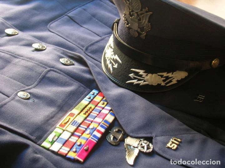 Militaria: UNIFORME COMPLETO DE CORONEL MUY CONDECORADO USAF. EPOCA DE LA GUERRA DE VIETNAM. 100% ORIGINAL USA. - Foto 12 - 119930075