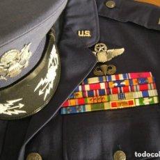 Militaria: UNIFORME COMPLETO DE CORONEL MUY CONDECORADO USAF. EPOCA DE LA GUERRA DE VIETNAM. 100% ORIGINAL USA.. Lote 120992267