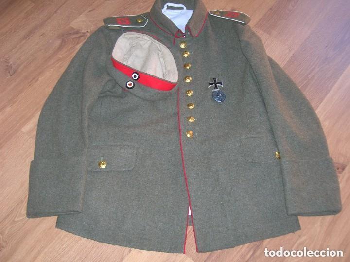 Militaria: EXCELENTE Y RARA RÉPLICA DE UNIFORME ALEMAN DE LA PRIMERA GUERRA MUNDIAL. - Foto 12 - 122149767