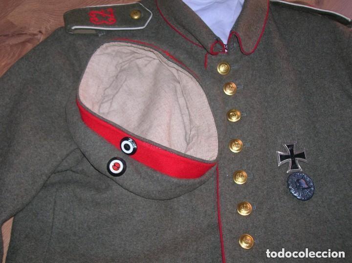 Militaria: EXCELENTE Y RARA RÉPLICA DE UNIFORME ALEMAN DE LA PRIMERA GUERRA MUNDIAL. - Foto 13 - 122149767