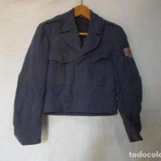 Militaria: ANTIGUA GUERRERA CORTA BATTLE DRESS INGLESA, RAF, AVIACION, GRAN BRETAÑA, ORIGINAL.. Lote 122772335