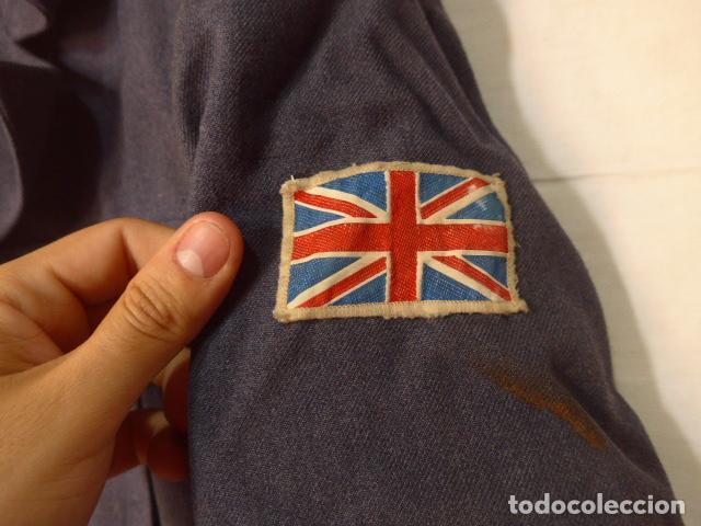 Militaria: Antigua guerrera corta battle dress inglesa, RAF, aviacion, Gran bretaña, original. - Foto 3 - 122772335