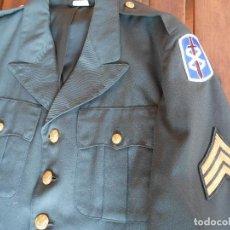 Militaria: UNIFORME SARGENTO U.S GUERRA DE VIETNAM AÑO 69-70. Lote 125163939