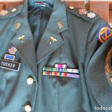 Militaria: UNIFORME DE MUJER PARA GALA, TENIENTE CORONEL ENFERMERA ÉPOCA VIETNAM.. Lote 125164555