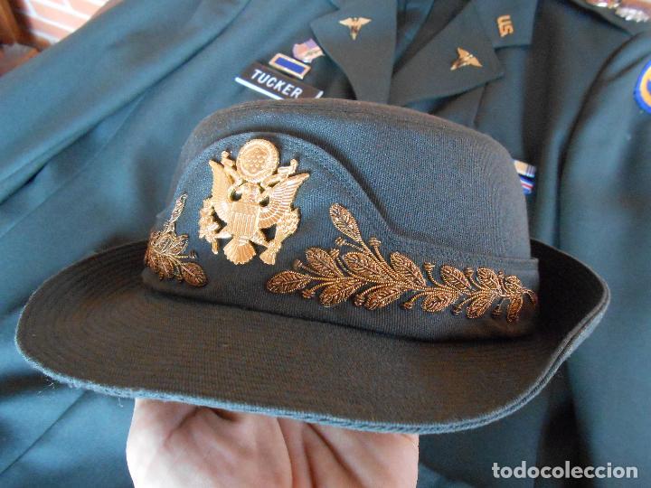 Militaria: Uniforme de mujer para gala, teniente coronel enfermera época Vietnam. - Foto 5 - 125164555
