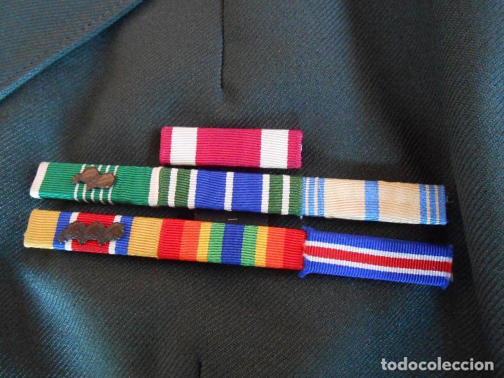 Militaria: Uniforme de mujer para gala, teniente coronel enfermera época Vietnam. - Foto 15 - 125164555