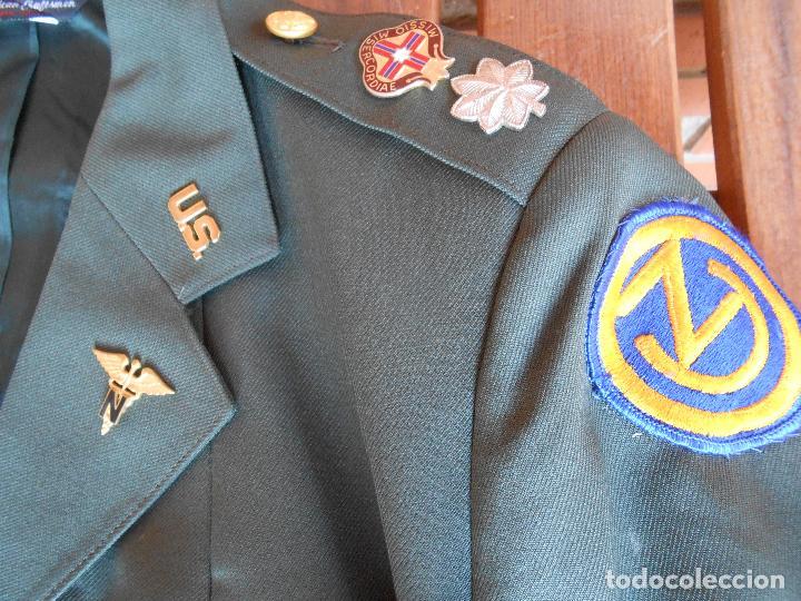 Militaria: Uniforme de mujer para gala, teniente coronel enfermera época Vietnam. - Foto 16 - 125164555