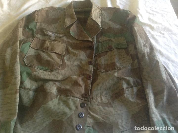 Militaria: GUERRERA DE OFICIAL ALEMAN CAMO - Foto 2 - 125188183