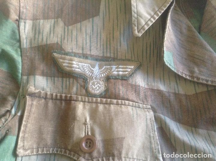 Militaria: GUERRERA DE OFICIAL ALEMAN CAMO - Foto 3 - 125188183