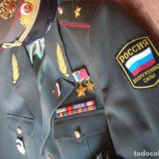 Militaria: EXCEPCIONAL UNIFORME COMPLETO DE GENERAL RUSO. RUSIA AÑOS 90. FEDERACIÓN RUSA.. Lote 126771335