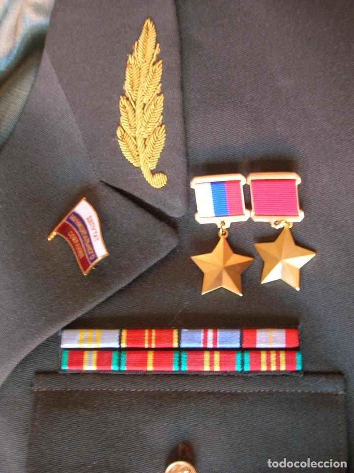Militaria: EXCEPCIONAL UNIFORME COMPLETO DE GENERAL RUSO. RUSIA AÑOS 90. FEDERACIÓN RUSA. - Foto 4 - 126771335
