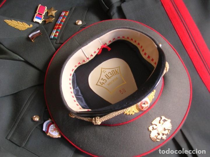 Militaria: EXCEPCIONAL UNIFORME COMPLETO DE GENERAL RUSO. RUSIA AÑOS 90. FEDERACIÓN RUSA. - Foto 5 - 126771335