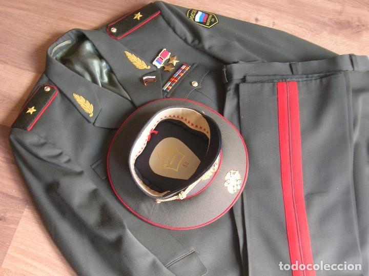 Militaria: EXCEPCIONAL UNIFORME COMPLETO DE GENERAL RUSO. RUSIA AÑOS 90. FEDERACIÓN RUSA. - Foto 7 - 126771335