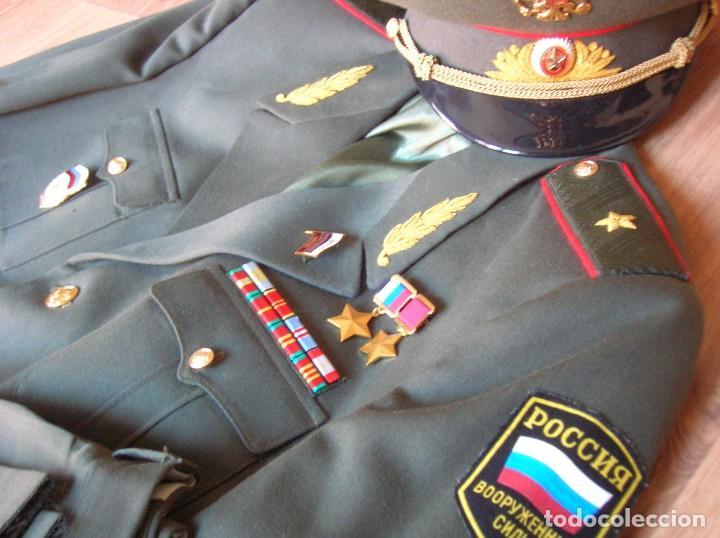 Militaria: EXCEPCIONAL UNIFORME COMPLETO DE GENERAL RUSO. RUSIA AÑOS 90. FEDERACIÓN RUSA. - Foto 8 - 126771335