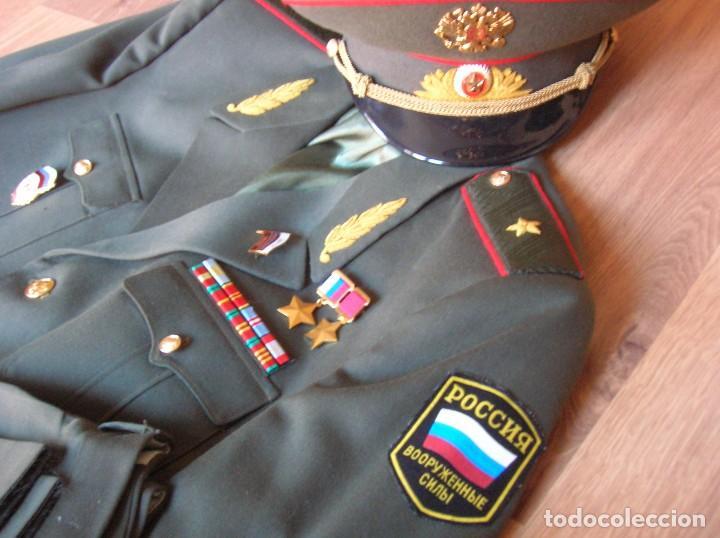 Militaria: EXCEPCIONAL UNIFORME COMPLETO DE GENERAL RUSO. RUSIA AÑOS 90. FEDERACIÓN RUSA. - Foto 10 - 126771335