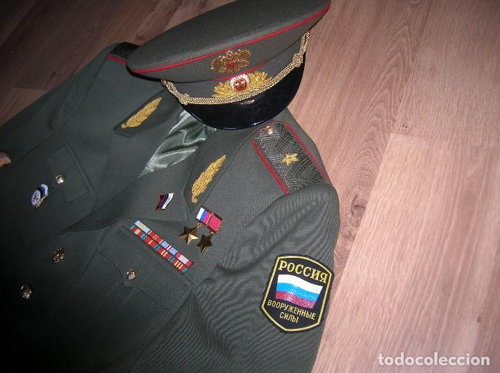 Militaria: EXCEPCIONAL UNIFORME COMPLETO DE GENERAL RUSO. RUSIA AÑOS 90. FEDERACIÓN RUSA. - Foto 14 - 126771335