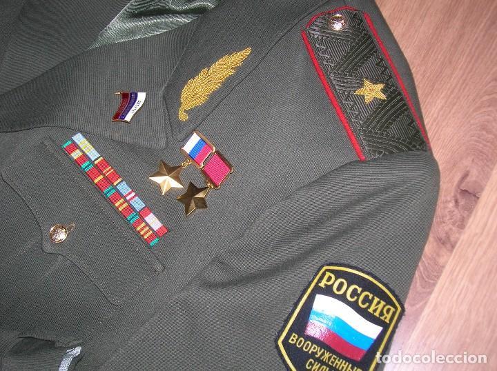 Militaria: EXCEPCIONAL UNIFORME COMPLETO DE GENERAL RUSO. RUSIA AÑOS 90. FEDERACIÓN RUSA. - Foto 16 - 126771335