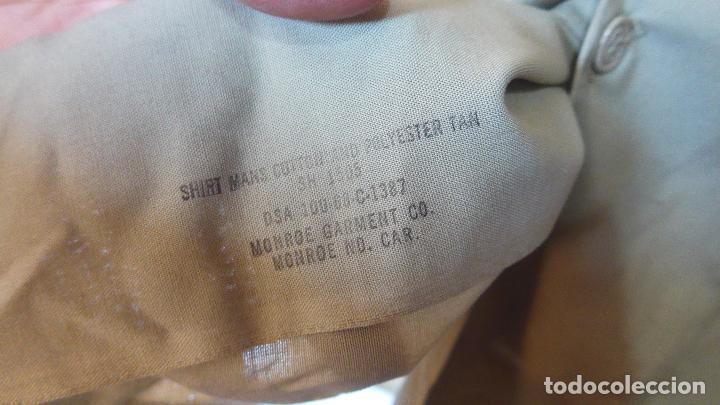 Militaria: Antigua camisa de manga corta americana, estados unidos, original. Guerra vietnam. DSA 68 - Foto 5 - 127461439