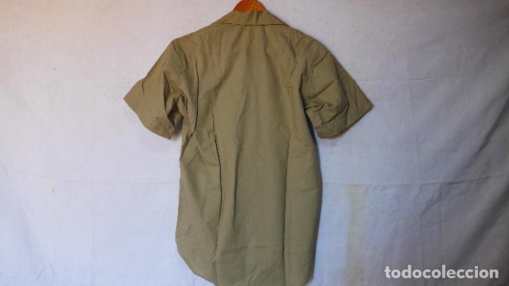 Militaria: Antigua camisa de manga corta americana, estados unidos, original. Guerra vietnam. DSA 68 - Foto 7 - 127461439